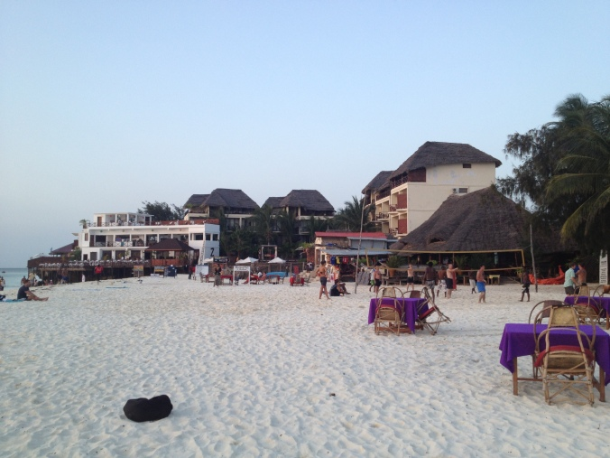 Nungwi resorts.