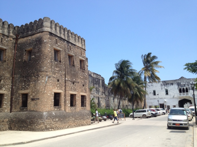 The Old Arab Fort, Stone Town's oldest building.